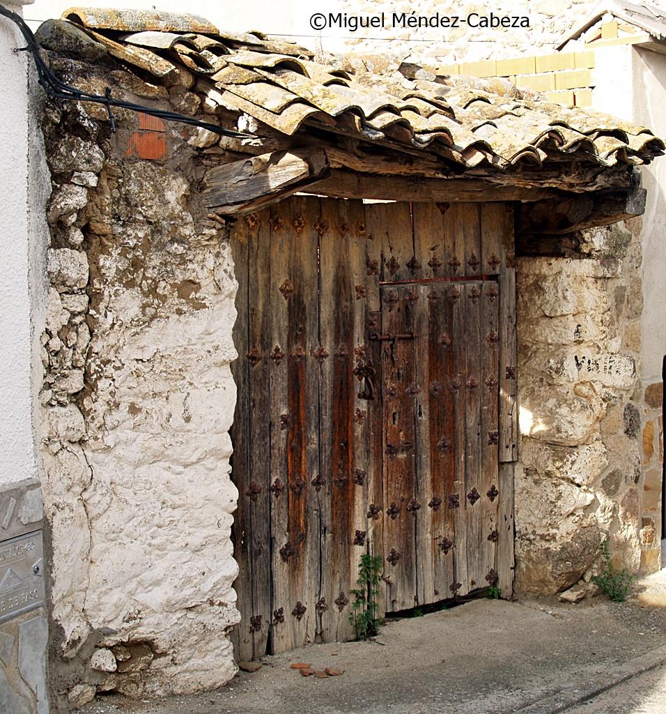 Tres Culturas Arquitectura Popular El Berrocal ~ Tejadillos Para Puertas Rusticos