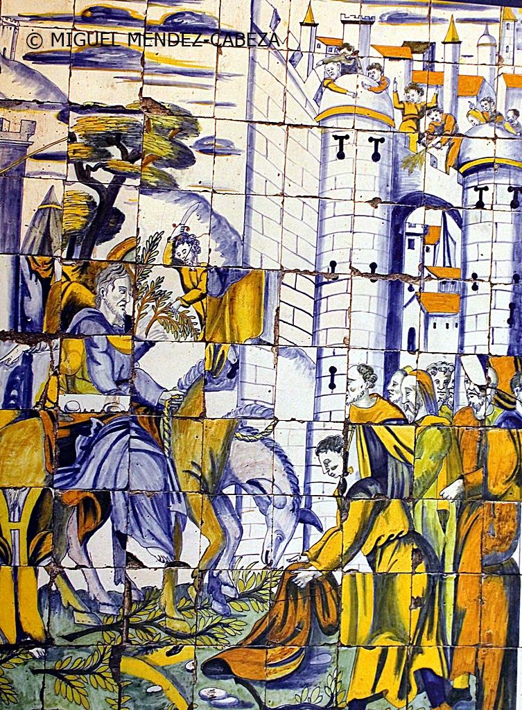 Domingo De Ramos En Azulejería De Talavera La Mejor Tierra De Castilla